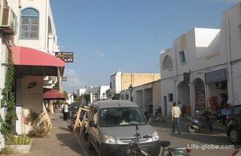 Midoun city on the island of Djerba, Tunisia