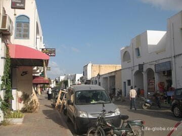 Midoun city on the island of Djerba, Tunisia