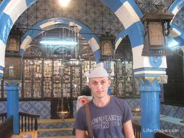 Синагога Эль Гриба в Эр-Риадхе, остров Джерба, Тунис