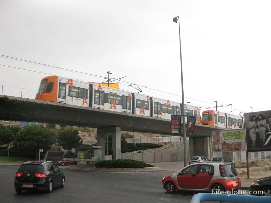 Общественный транспорт Аликанте, трамваи