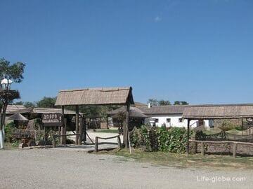 Казачья станица Атамань - этнотуристический комплекс в Краснодарском крае
