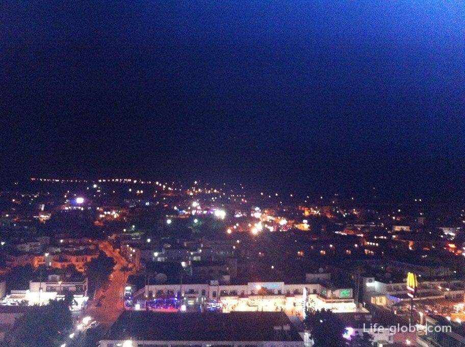 panorama of evening Cyprus