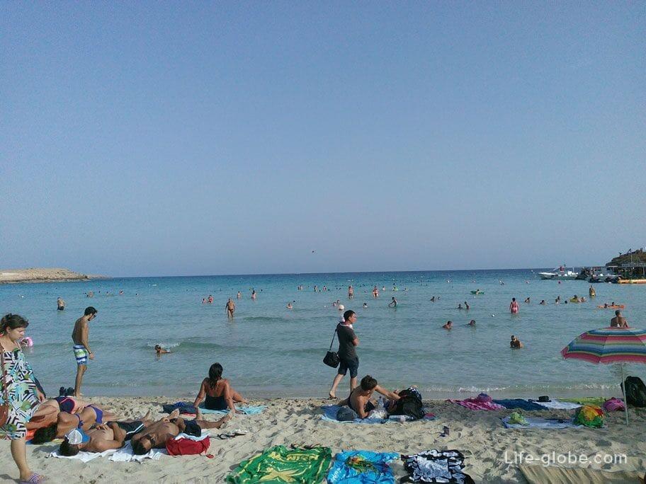 Nissi Beach Ayia Napa, Cyprus
