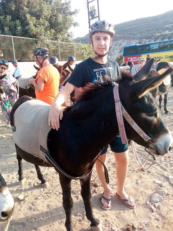 donkey ride, Cyprus