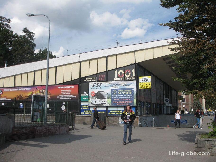 bus station Gdansk