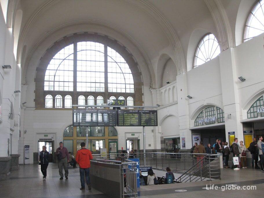 Gdansk Railway Station inside