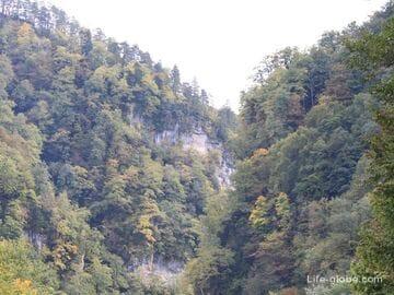Гуамское ущелье, Краснодарский край (хутор Гуамка)