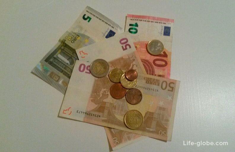 Испания сколько денег брать с собой