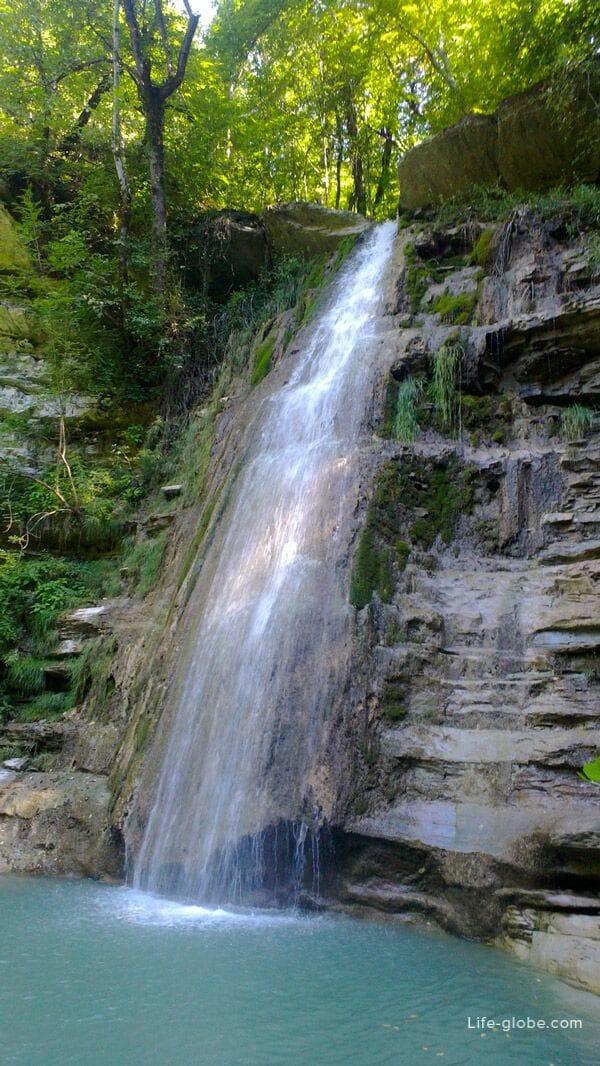 Водопады реки Пшада — Джиппинг в Геленджике. Активный отдых, туры и приключения Геленджика. Краснодарский край
