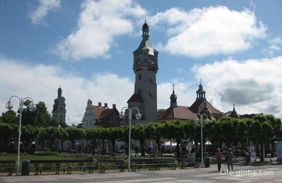 sights of Sopot-Sopot Lighthouse