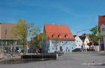Прогулка по Меммингену. Улицы, фотографии, общая информация, достопримечательности