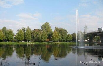Парк в Меммингене  (Stadtpark Neue Welt)