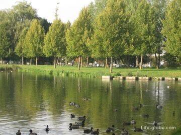 Как пройти до Neue Welt парка в Меммингене
