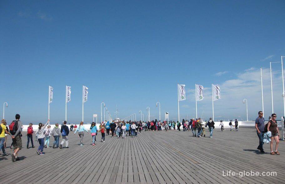 sights of Sopot-Pier