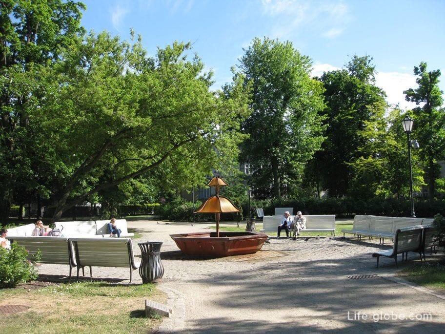 Maria and Lech Kaczynski Sopot Park