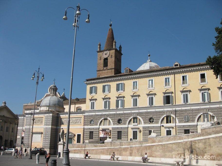приход базилика Санта Мария дель Пополо