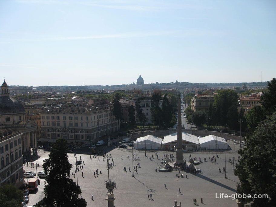 Square del Popolo in Rome