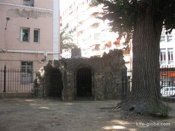 Парк Санта Тереза и Пантеон губернатору Кахино в Аликанте Испания
