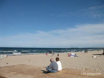 Море и пляж Сопота, Польша