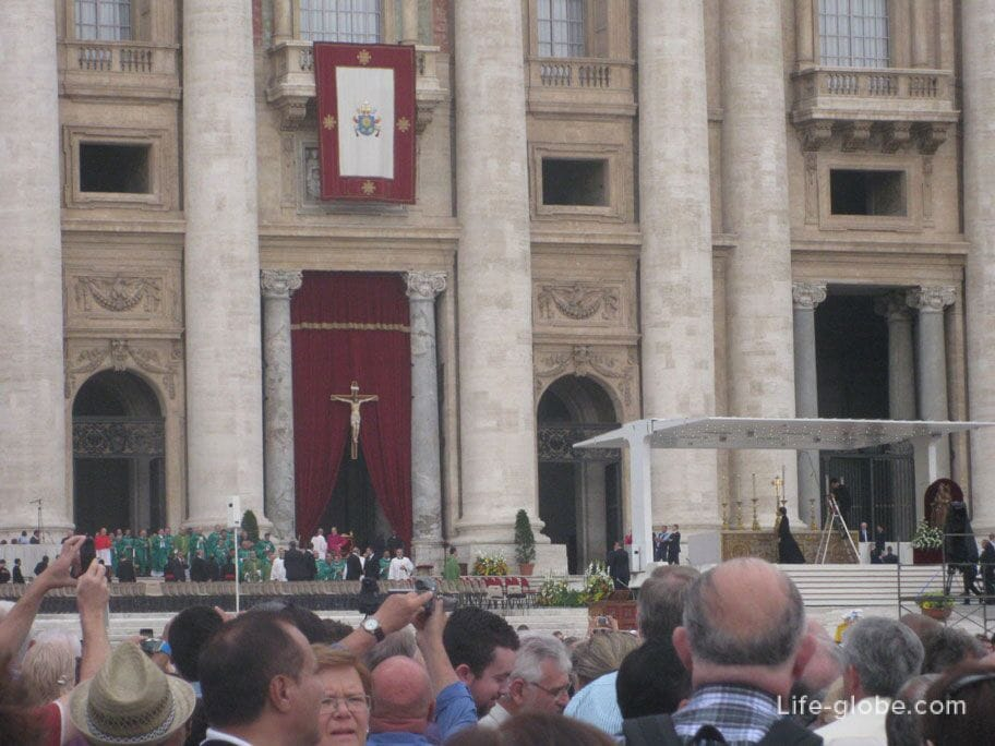 procession of service in the vatican