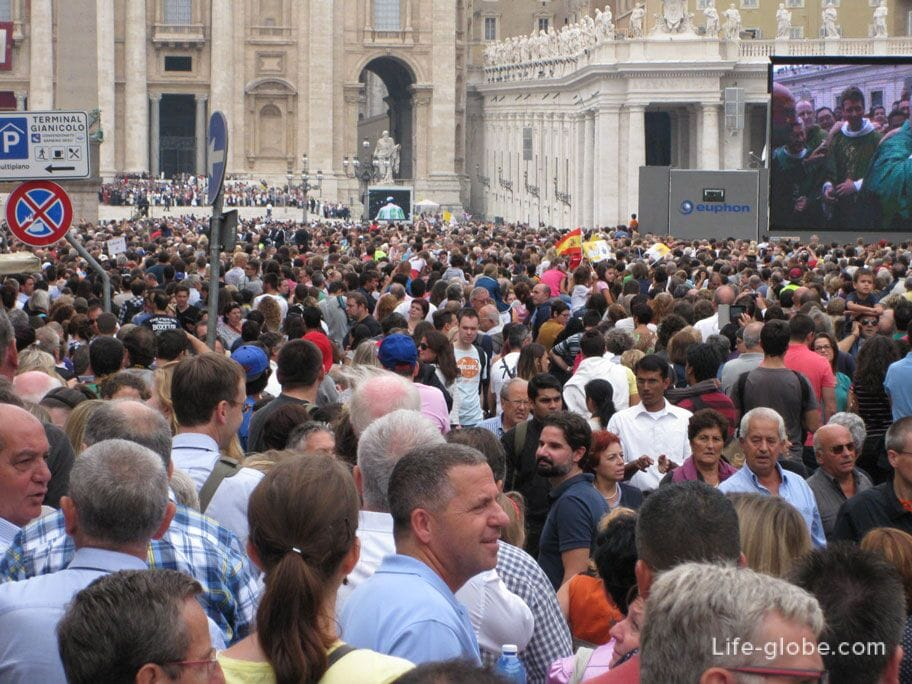 service in the Vatican