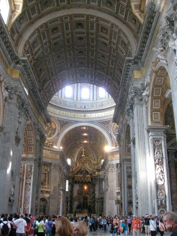 halls of St. Peter's Basilica