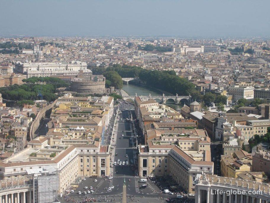 Rome panorama photo