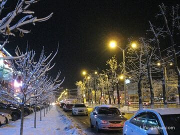 Зима в Краснодаре (улицы зимнего Краснодара)