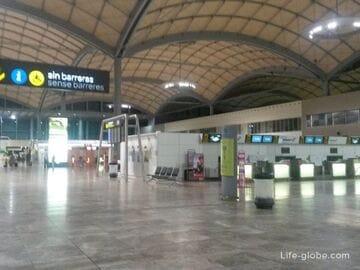 Как добраться из Аликанте в аэропорт (из аэропорта Аликанте в центр города)
