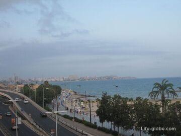 Видео панорамы города Аликанте, Испания