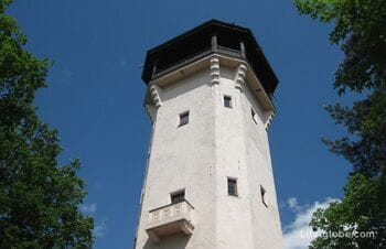 Walk in Karlovy Vary - Diana lookout tower, Diana funicular