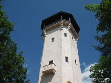 Прогулка по Карловым Варам - Смотровая башня Диана, фуникулер Диана