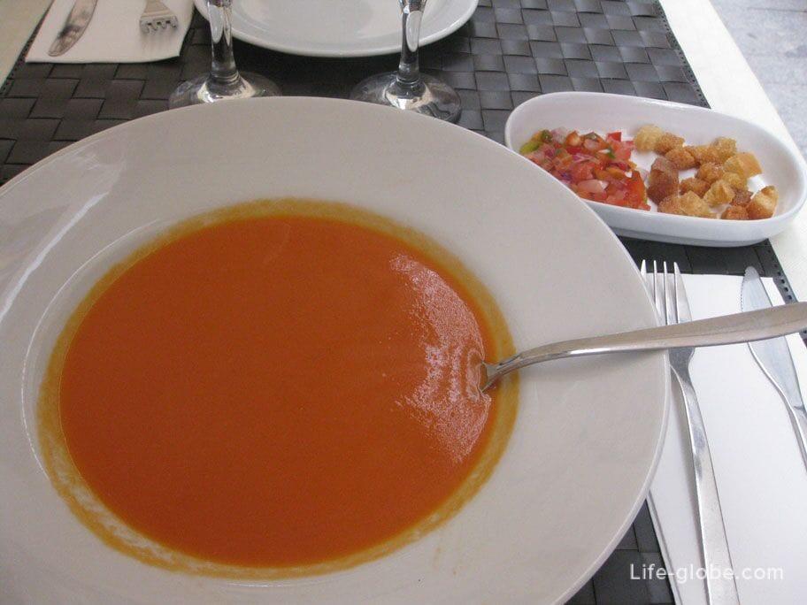 Блюда Аликанте - Гаспачо