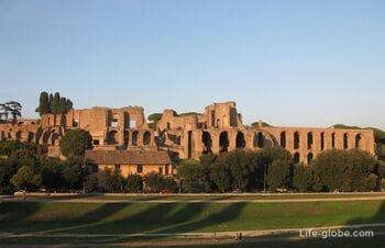 Большой цирк в Риме - самый обширный античный ипподром Италии