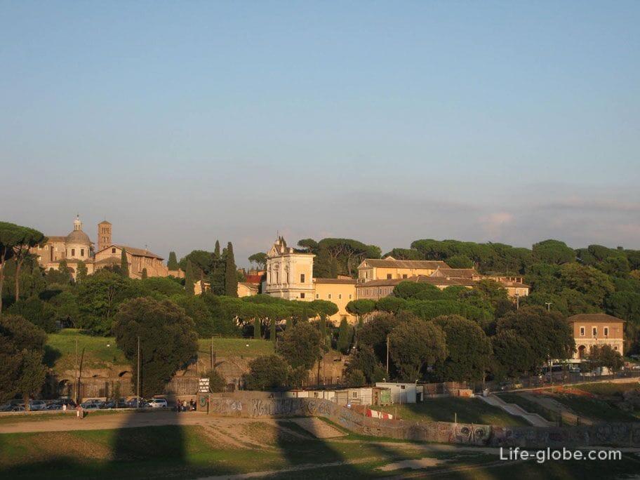 античный стадион в Риме