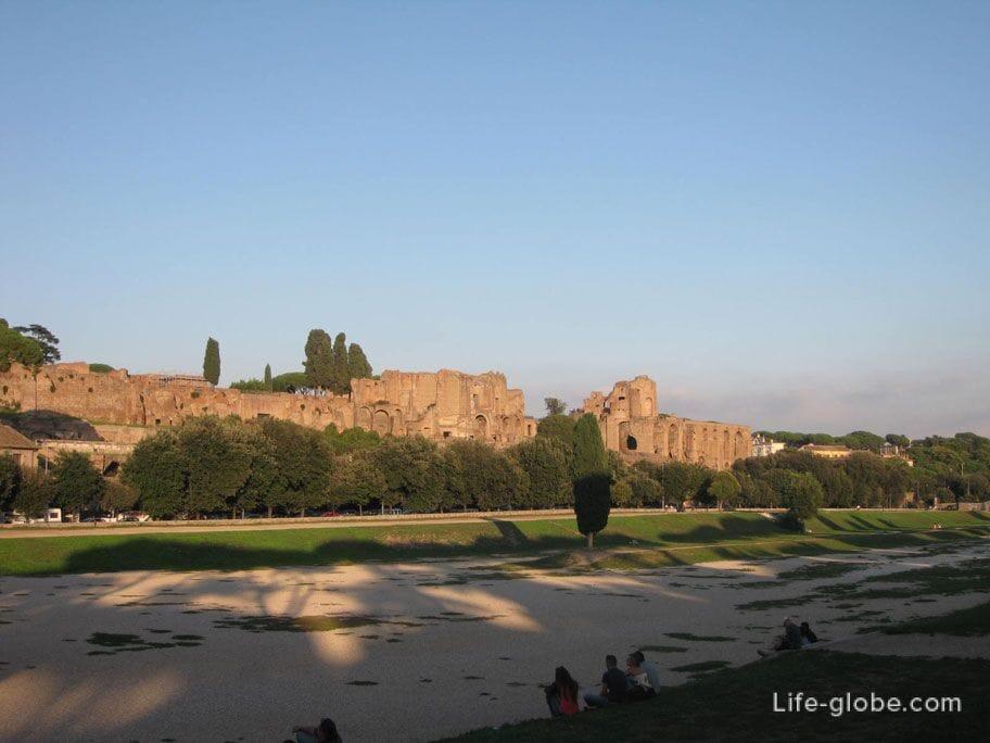самый большой стадион в древнем Риме