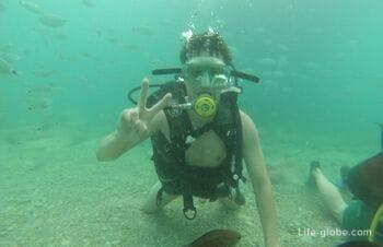 Diving in Turkey, Kemer