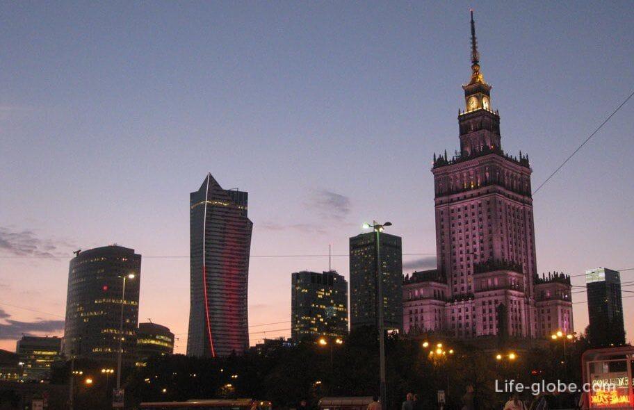 Dvorec Kultury I Nauki V Varshave