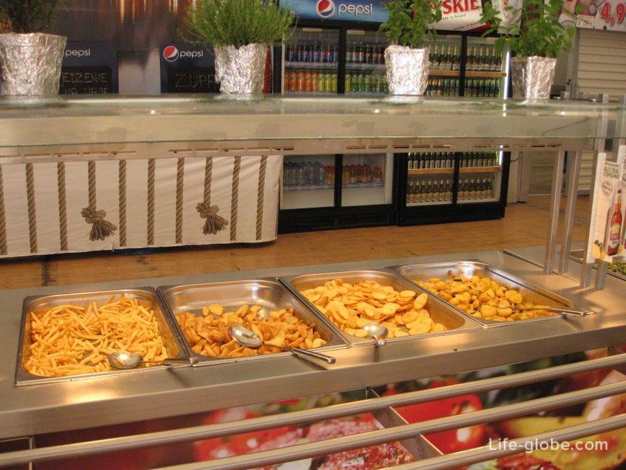 potato side dishes Gdansk