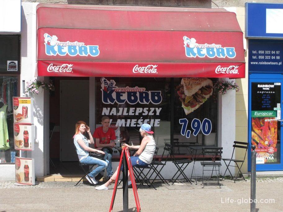 kebab in Gdansk