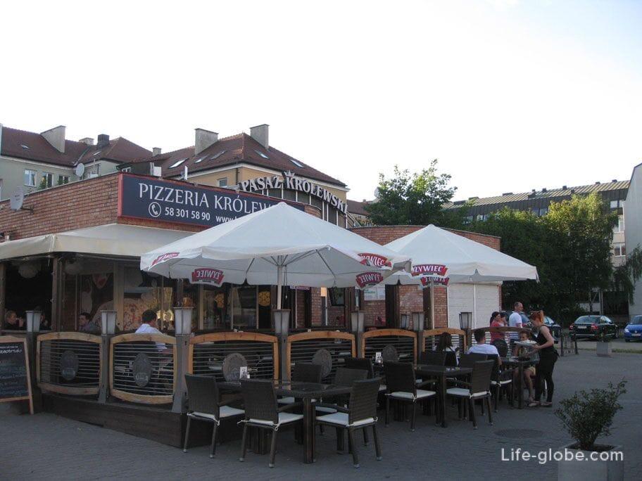 pizzeria in the center of Gdansk
