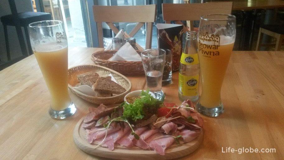 beer restaurant in Gdansk