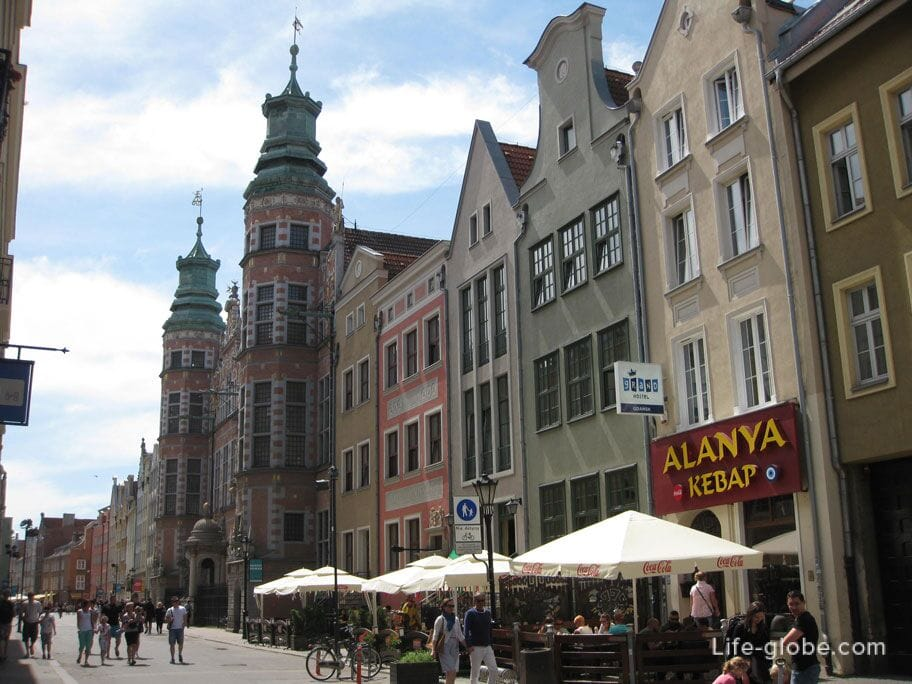 kebab in the old town of Gdansk