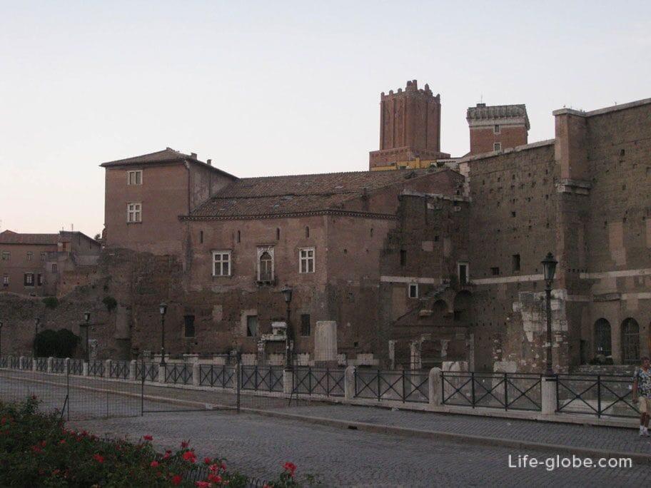 forum of the Emperor Trajan