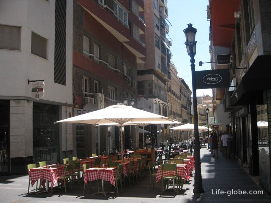 Улица Майор, Аликанте