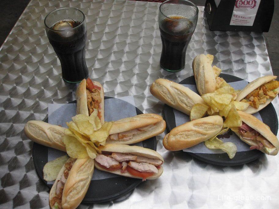 Блюда Аликанте - Тапас и Пинчос