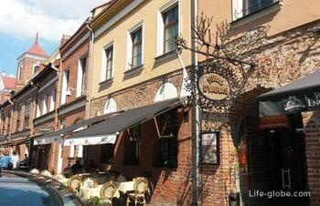 Где вкусно и недорого поесть в Каунасе, Литва