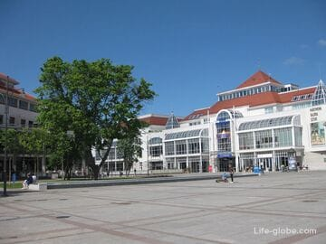 Центральная площадь Сопота