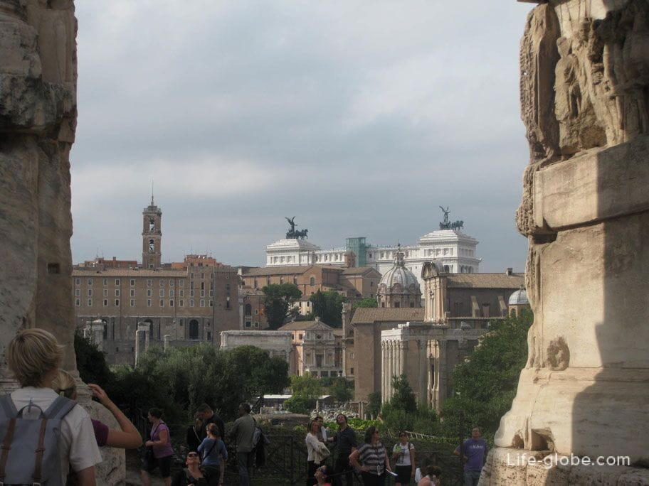 улицы Рима, фото