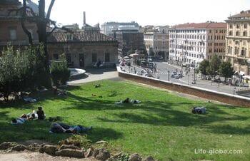 Интересное на улицах Рима, наши наблюдения + фото